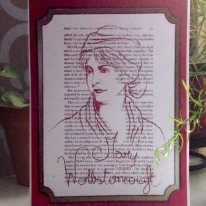 Mary Wollstonecraft feminist greeting card