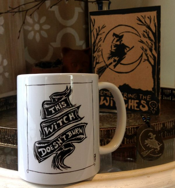 this witch doesn't burn mug