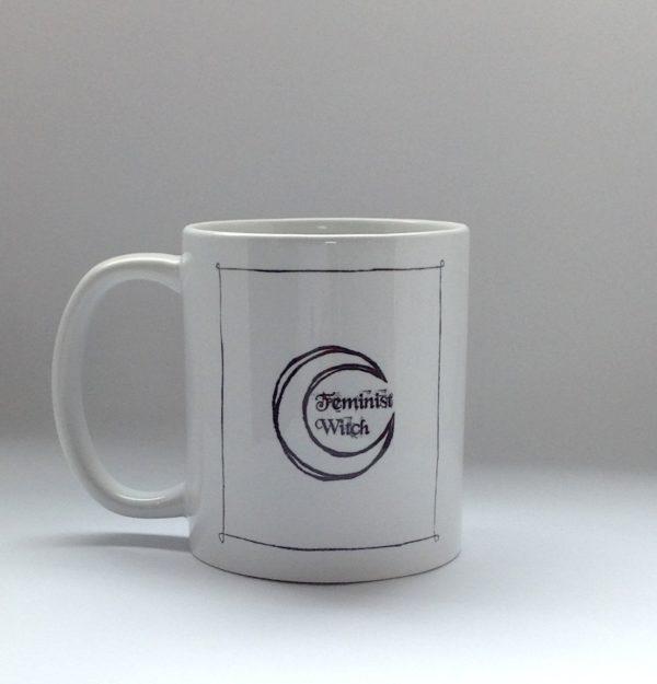 This witch mug doesn't burn Mug