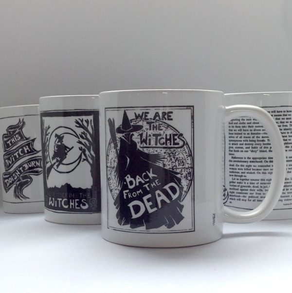 witches mugs collection