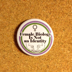 Female Biology is not an Identity
