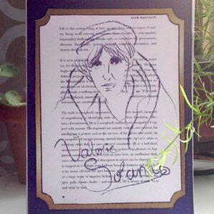 Valerie Solanas - Feminist Icon Greeting Card