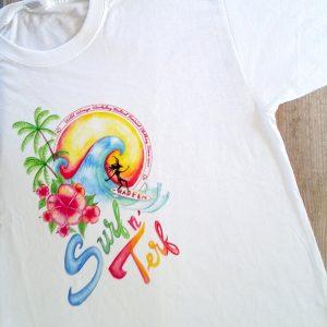 wild womyn workshop - surf n' terf t-shirt